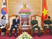 Vietnam-R. de Corée : renforcement de l'échange de délégations entre les deux armées
