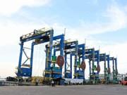 Doosan Vietnam exporte ses premières grues à pneus en Inde