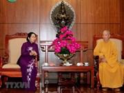 Les dirigeants de HCM-V saluent l'anniversaire de Bouddha