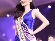 Une Vietnamienne remporte le titre de Miss Global Tourism