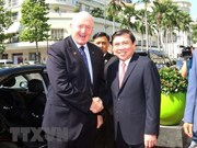 Le gouverneur général d'Australie se rend à Ho Chi Minh-Ville