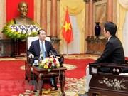 Le président du Vietnam souligne le développement heureux des liens Vietnam-Japon
