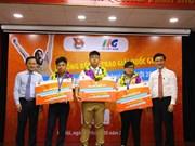 Informatique : Trois Vietnamiens participeront à la finale du MOSWC 2018 aux Etats-Unis