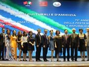 Rencontre en l'honneur de la Fête de la République italienne