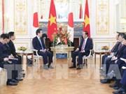 Le président Tran Dai Quang reçoit le président du Parti Komei du Japon