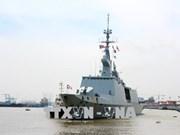 Des navires français en visite à Ho Chi Minh-Ville