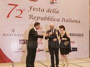 La fête nationale d'Italie célébrée à Ho Chi Minh-Ville