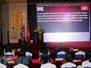 Célébration du 92e anniversaire de la reine Elizabeth II à Ho Chi Minh-Ville