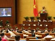 Ouverture de la séance d'interpellations de l'Assemblée nationale
