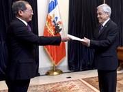 Le président chilien apprécie les réalisations économiques du Vietnam