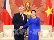La présidente de l'AN reçoit le vice-président de la Chambre des députés de la R. tchèque
