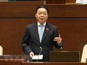 Interpellation du ministre des Ressources naturelles et de l'Environnement