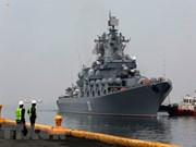 Des navires de la marine russe visitent les Philippines