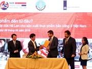 Vietnam - Pays-Bas : Coopération dans le développement de nouvelles variétés de légumes