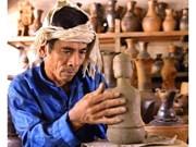 Élaboration du dossier de l'art de la céramique des Chams pour le soumettre à l'UNESCO
