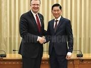 Hô Chi Minh-Ville et des entreprises américaines tissent des liens