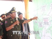 Le vice-PM cambodgien Tea Banh visite des sites historiques à Binh Phuoc