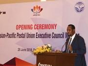 Réunion du Conseil exécutif de l'Union postale de l'Asie et du Pacifique à Da Nang