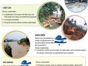 Les crues font de lourds dégâts dans les provinces montagneuses du Nord