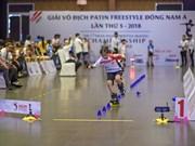Patinage freestyle : clôture du 5e Championnat d'Asie du Sud-Est