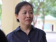Une candidate de 50 ans aux épreuves nationales du baccalauréat