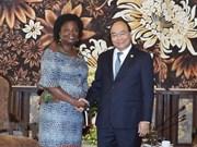 Le PM Nguyên Xuân Phuc reçoit la responsable de la BM Victoria Kwakwa