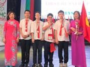 Maths: le Vietnam brille au BIMC 2018 en Bulgarie