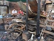 Incendie à Phnom Penh: message de sympathie aux victimes vietnamiennes