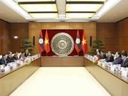 L'AN du Vietnam attache de l'importance des relations extérieures avec l'AN du Laos