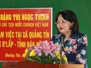 La vice-présidente Dang Thi Ngoc Thinh rend hommage aux morts pour la Patrie à Dak Nong