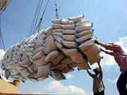 Exportations nationales de riz: hausse tant en volume qu'en valeur au 1er semestre