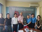 Une délégation syndicale du Vietnam en visite de travail en Grèce