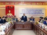 Le PM exhorte Hà Tinh à s'orienter vers le développement durable