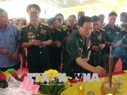 Une cérémonie religieuse commémore les martyrs héroïques à Quang Tri