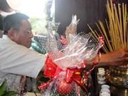 Cérémonie religieuse en mémoire des jeunes volontaires morts pour la Patrie de HCM-Ville