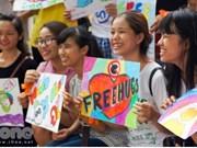 Free Hugs, la fête des câlins gratuits à Hô Chi Minh-Ville