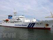 Le navire-école de la garde-côte japonaise Kojima jette l'ancre à Da Nang