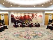 Le président du Département général de la politique de l'Armée populaire du Vietnam en Chine