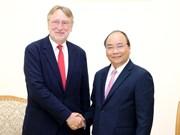 Le PM reçoit le président de la Commission du commerce international du Parlement européen