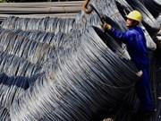 Acier: forte hausse des exportations au 1er semestre