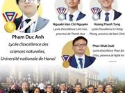 [Infographie] Des médailles pour tous les élèves vietnamiens aux 50èmes IChO 2018