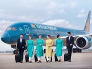 Vietnam Airlines classée compagnie aérienne internationale 4 étoiles
