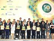 Forbes Vietnam honore les 50 premières sociétés cotées
