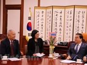 Le président de l'AN sud-coréenne souligne le rôle du Vietnam