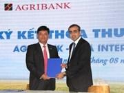 Agribank coopère avec Tata International Vietnam pour la fourniture de machines agricoles
