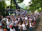 Marche pour les victimes de l'agent orange/dioxine et des handicaps défavorisés
