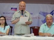 Réunion des russes vétérans de la guerre du Vietnam à Moscou
