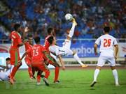 Le Vietnam bientôt champion du Tournoi international Vinaphone U23