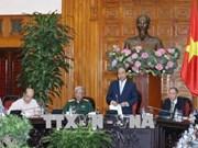 Le PM rencontre l'Association des victimes de l'agent orange/dioxine