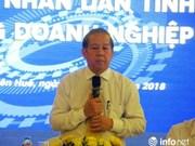 Thua Thien-Hue s'engage à soutenir les entreprises